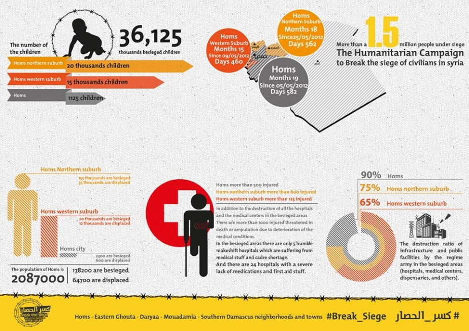 Homs infographic