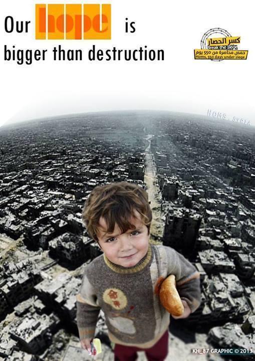La asediada Homs