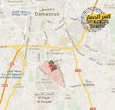 Barrio Al Tadamoun, Damasco