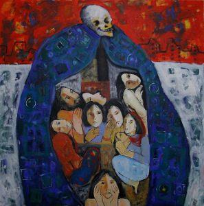 2014-painting-خلدون-عزام