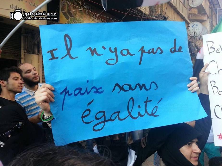 """""""No hay paz sin igualdad"""""""
