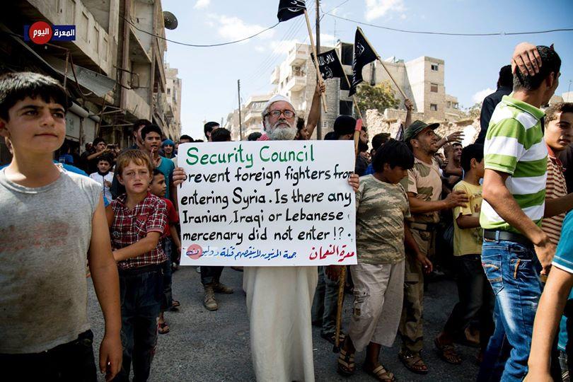 """""""Consejo de Seguridad prevengan a combatientes extranjeros de entrar a Siria. ¿Hay algún mercenario Iraní, Iraquí o Libanés que no haya participado ya?"""